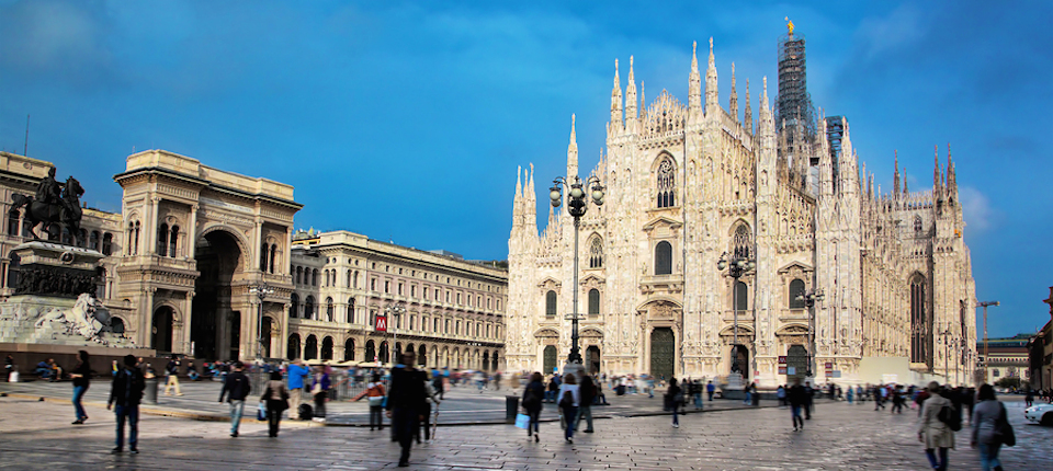 how to call milan italy