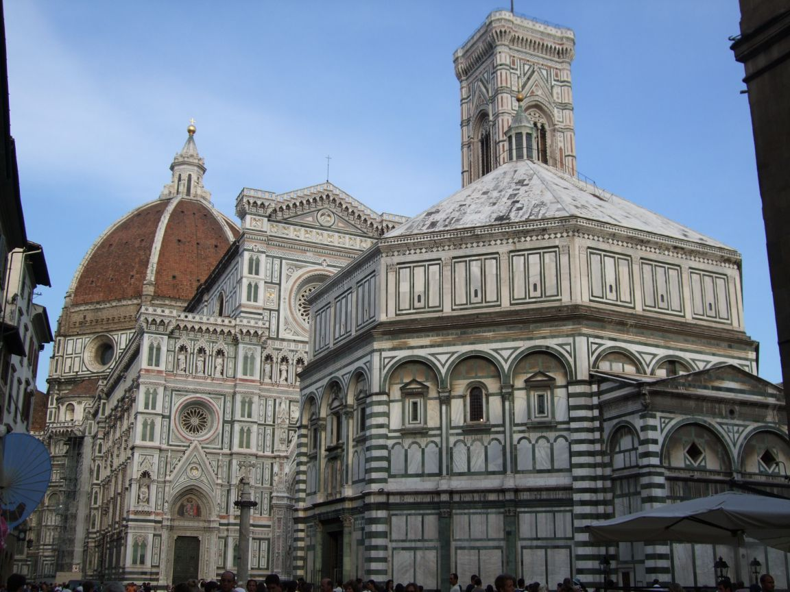 Florence Baptistery and Duomo