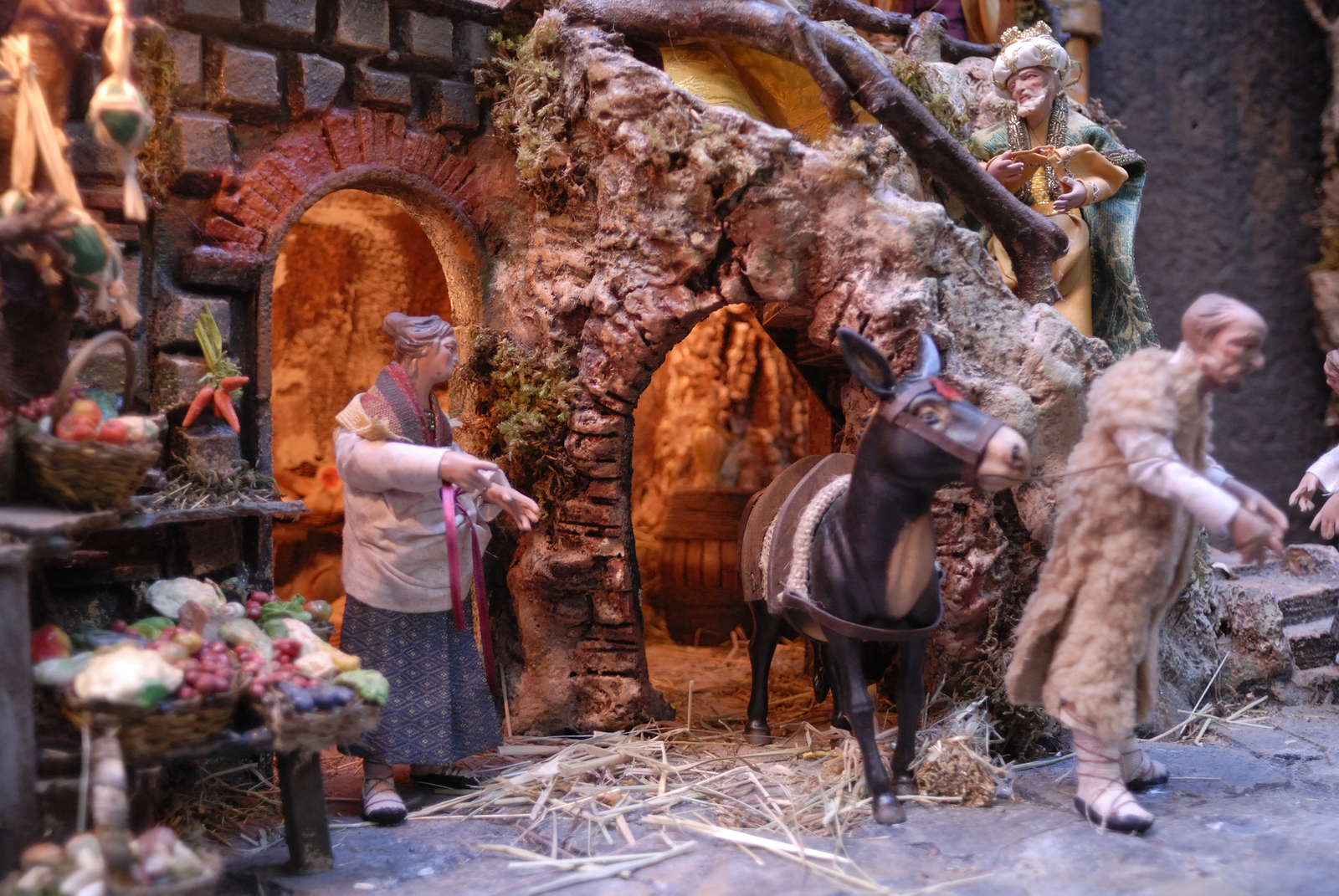 naples nativity scene
