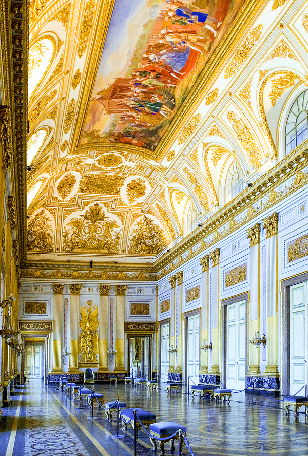 10 reasons why you should visit the royal palaces of naples italy magazine - Interior designer caserta ...