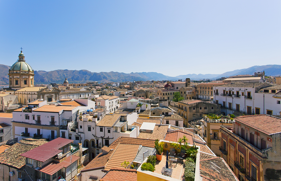 Panoramic view of Palermo