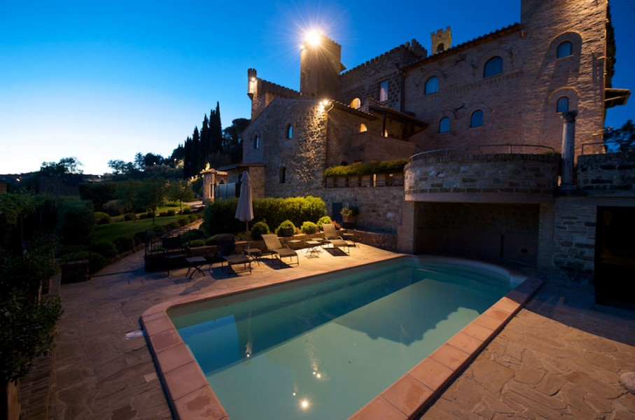Castle residence of Monterone in Umbria