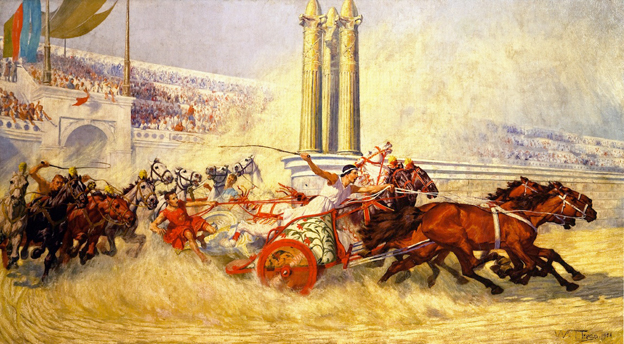 roman charriot racing
