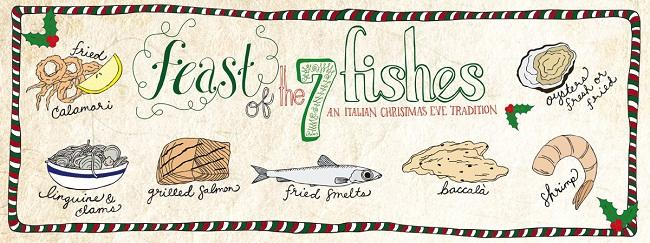 Plaice in my pasta fish at christmas dinner italy magazine for What is the feast of seven fishes