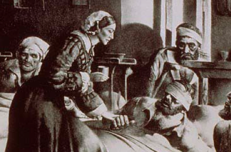 Florence Nightingale at The Hospital