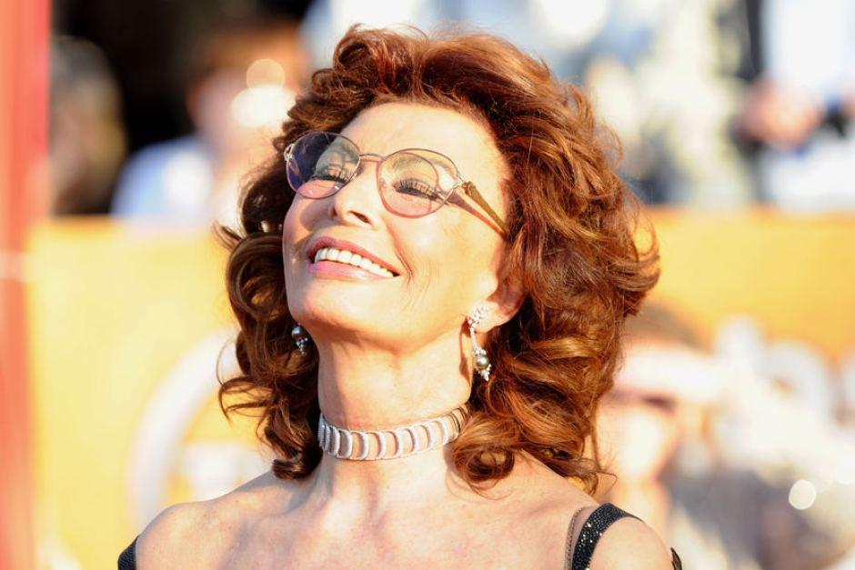 Sophia Loren Ugly As such  we salute Sophia