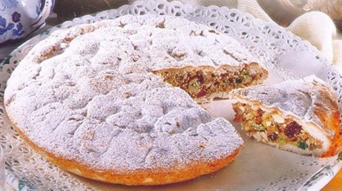 Spongata cake