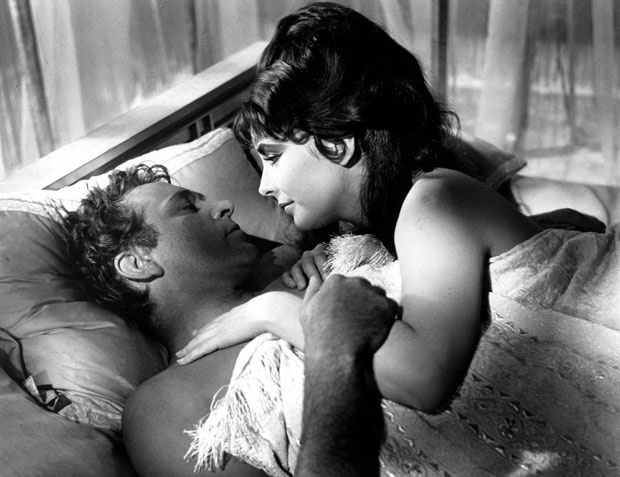 Liz Taylor and Richard Burton