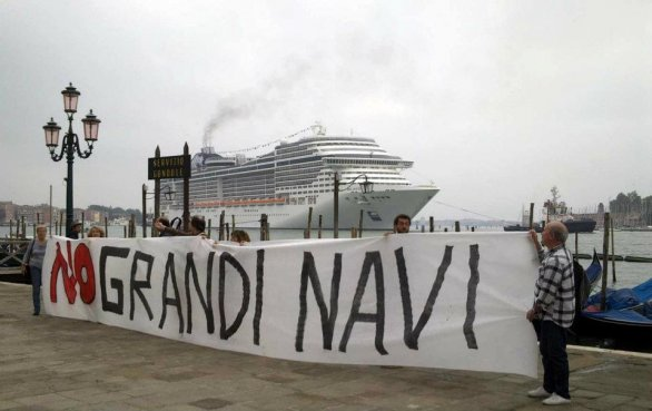 No to Cruise Ships in Venice
