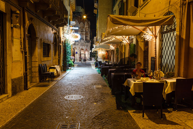 Cafe Verona: The Charms Of Verona