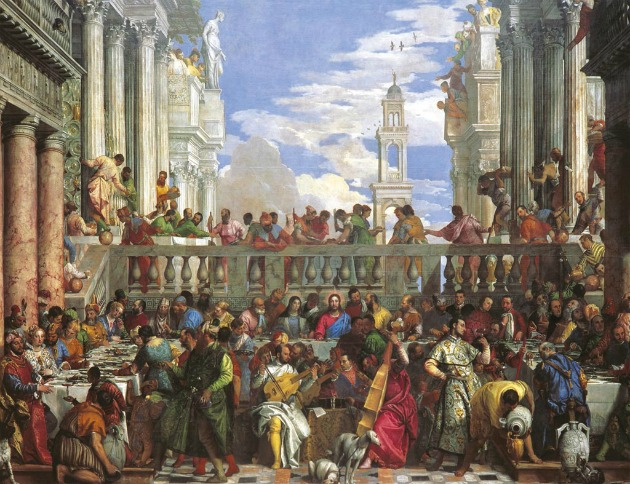 the wedding feast at cana by veronese essay Bartolomé esteban murillo (1617-1682), the wedding at cana (las bodas de caná), c1672, Óleo sobre lienzo.