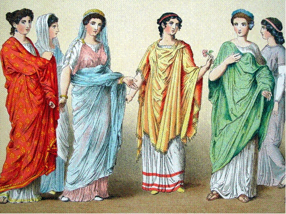Gallery For gt Roman Women Clothing