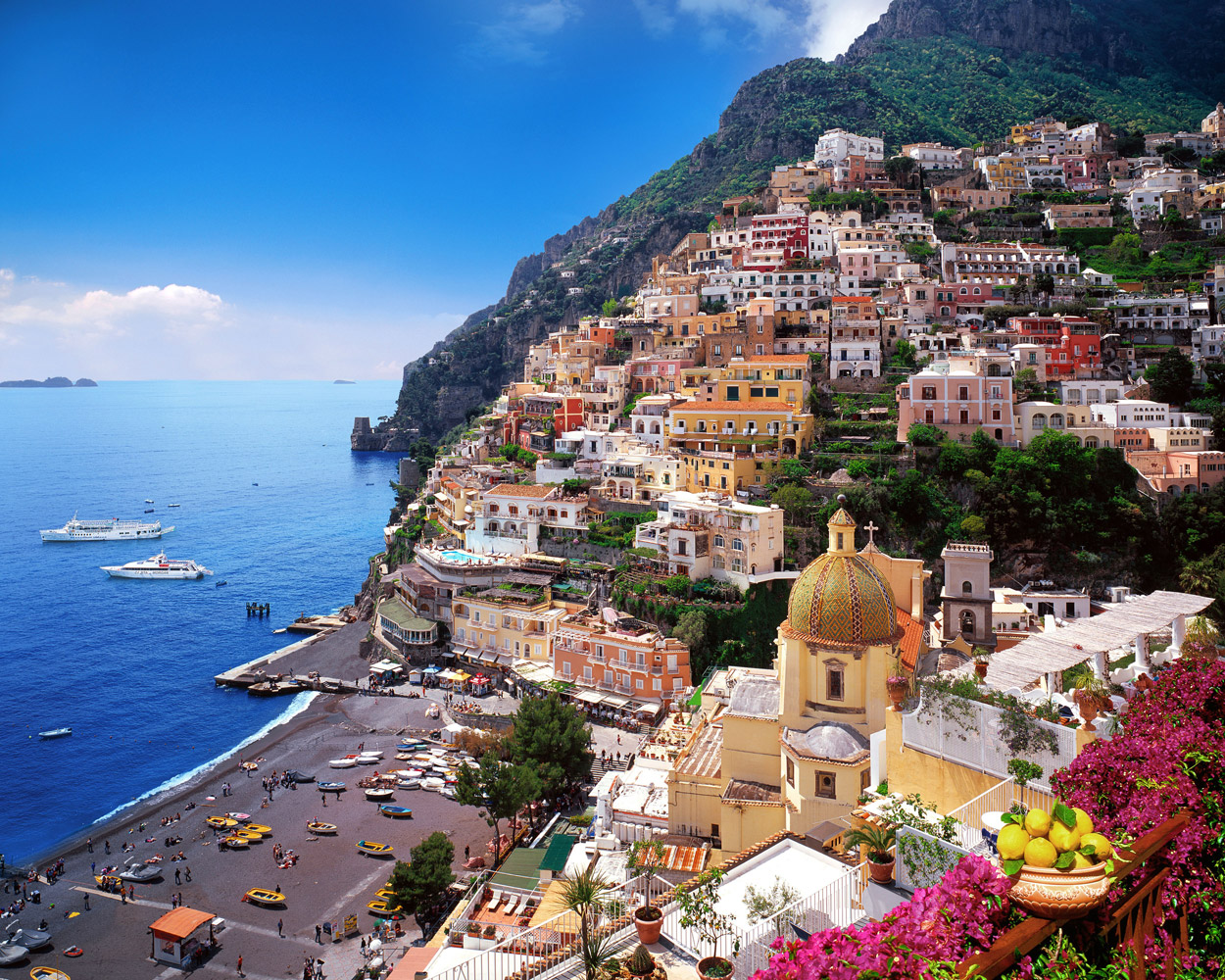 . the jewel of the amalfi coast positano  italy magazine
