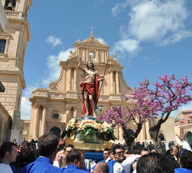 Пасхальные традиции Сицилии
