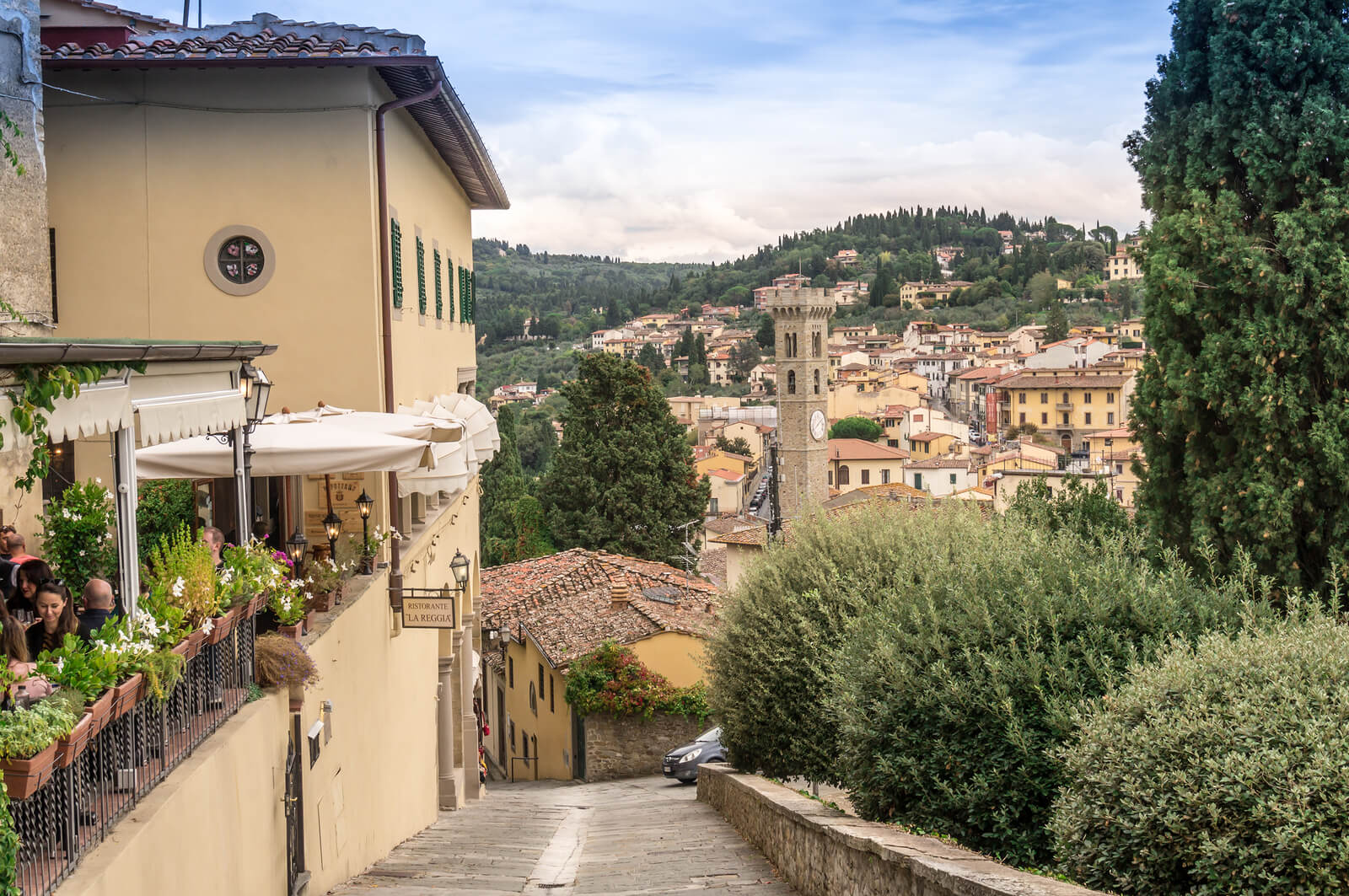 Day Trip From Florence Fiesole Italy Magazine