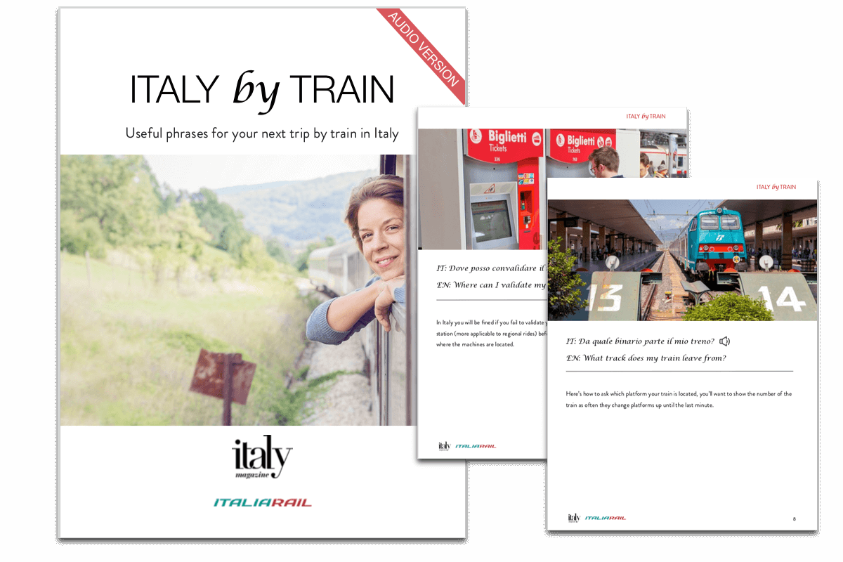 Italian Phrases eBook | ItaliaRail - Italy Train Ticket and