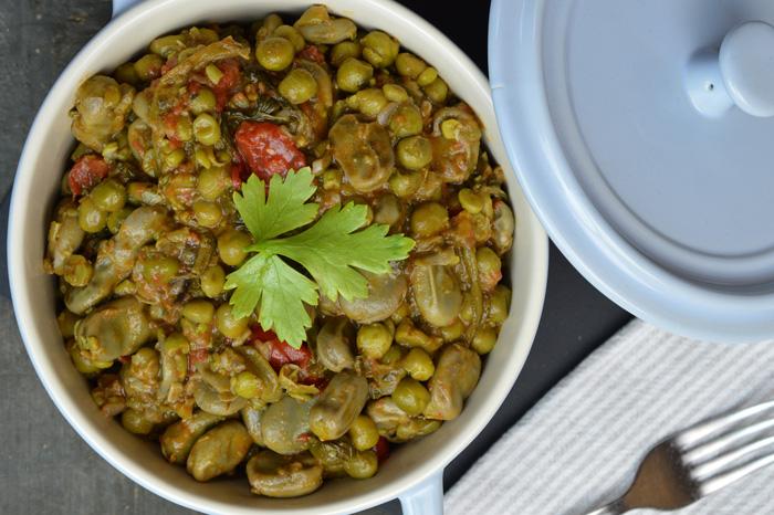 Scafata Fava Bean Stew Italy Magazine