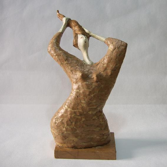 Shop Towels Paper Mache: Model Paper-mache Sculpture