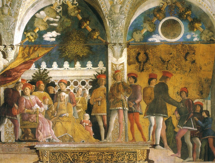 Renaissance masterpiece the bridal chamber at mantua s for Camera sposi