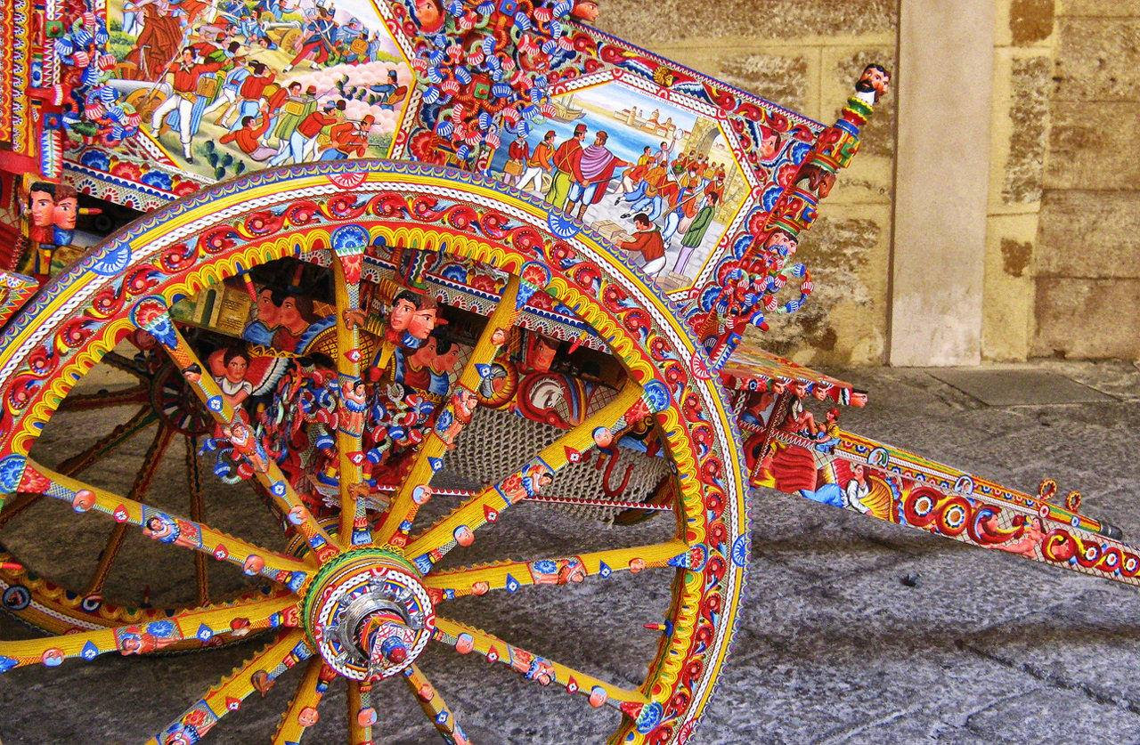 Save The Date Exhibition On Sicilian Cart Opens June 30