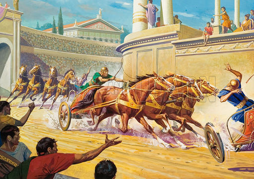 Forget Ben-Hur: These Days, Chariot Races Are at Home on ...