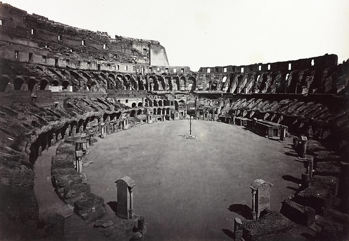 colosseums gladiator arena could be rebuilt italy magazine