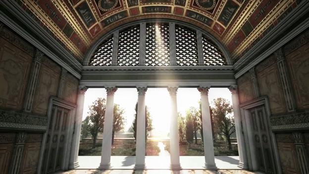 Nero's villa in Rome