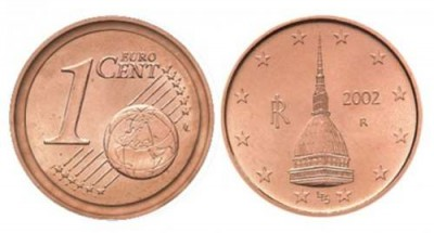 One Cent Italian Euro Coins Worth Thousands