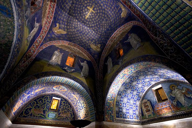 Image result for mausoleum of galla placidia