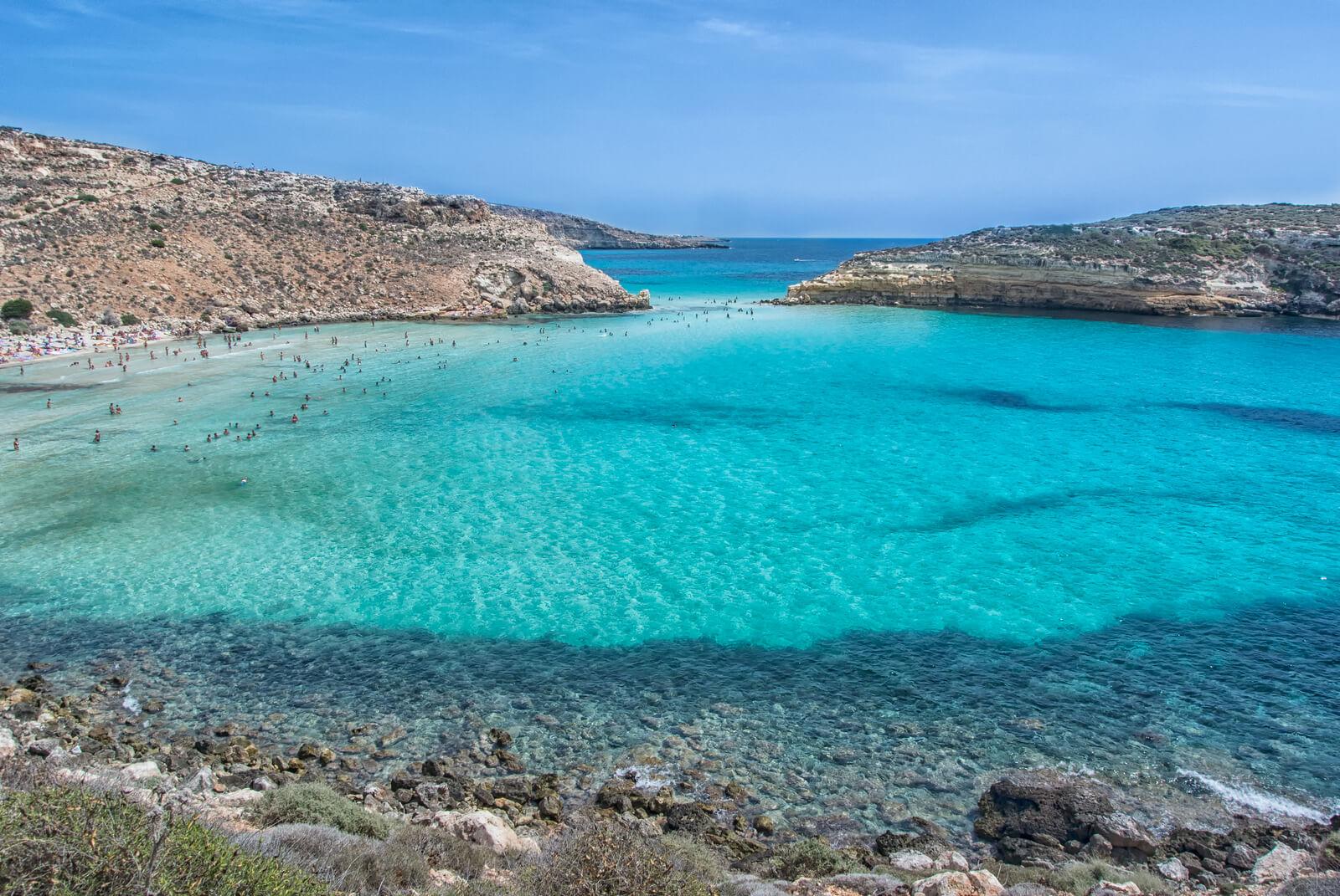 Sicily S Isola Dei Conigli The World S Most Beautiful