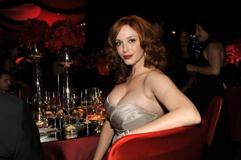 Mad Men Star Christina Hendricks Thanks Italy Her Curves on page 3 s sun newspaper