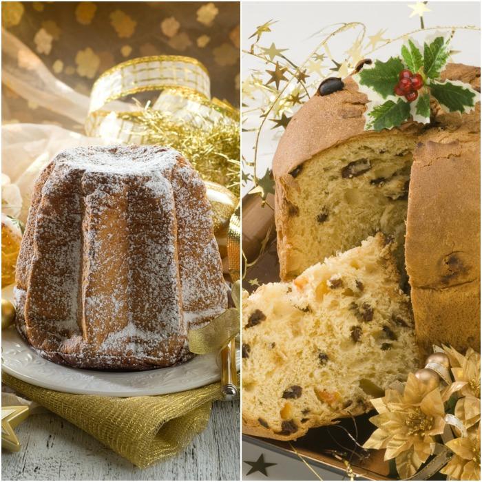 Italian Christmas Cake.Panettone Vs Pandoro The Christmas Cakes Battle Italy