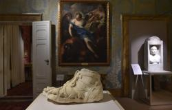 Ancient model shoe on display at Palazzo Pitti in Florence