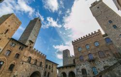 View of San Gimignano Tuscany