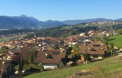 Mountain village in Trentino