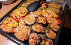 Stuffed and baked vegetables