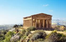 Temple of Concordia Valley of Temples Agrigento Italy