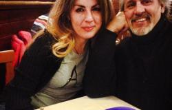 'Giacomino Nicolazzo and his wife Diana at a restaurant near Bologna'