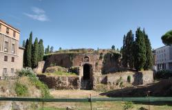 The Mausoleum of Augustus Tomb built by Roman Emperor Augustus in 28 BC on The Campus Martius