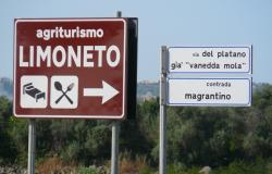 road sign for Agriturismo LimonetoSiracusa