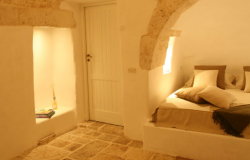 Trullo Oasis with private pool sleeps 4 + 1 near Ceglie Messapica