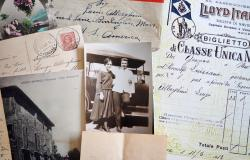 Letters and documents from relatives who emigrated to America