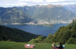 wonderful views en route to Monte San Primo (Lago di Como)