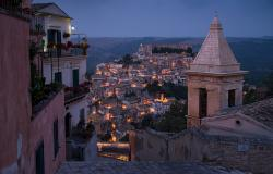 ragusa at dawn