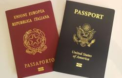 Italian Passport and American Passport