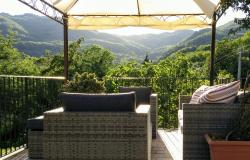 Lunigiana view from house terrace