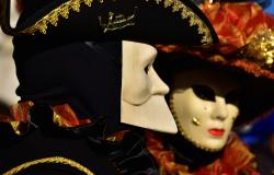 Typical Venetian Masks at Venice Carnival