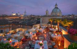 rooftop bars restaurants in Rome