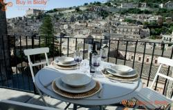 Prestigious independent apartment with terrace, located in Modica (RG) 148-14 0