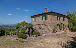 Farmhouse for Sale with Panoramic View in Tuscany - LA TERRAZZA (TCR-058) 0
